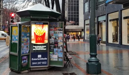 publicidad kioskos